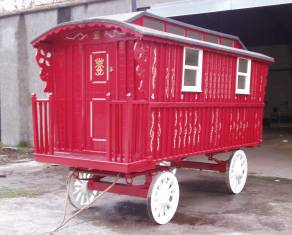 caravan painted by our team