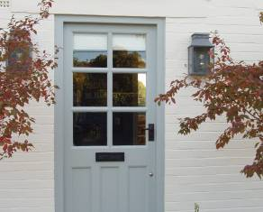 house door painted by our experts